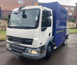 2009 DAF 45/160 UTILITY BOX DROPSIDE FOR SALE IN DOWN FOR €1 ON DONEDEAL