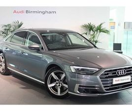 USED 2018 AUDI A8 55 TFSI QUATTRO 4DR TIPTRONIC SALOON 8,379 MILES IN GREY FOR SALE   CARS