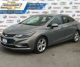 2017 CHEVROLET CRUZE PREMIER - CERTIFIED - LEATHER SEATS   CARS & TRUCKS   ST. CATHARINES