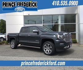 GRAY COLOR 2017 GMC SIERRA 1500 DENALI FOR SALE IN PRINCE FREDERICK, MD 20678. VIN IS 3GTU