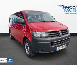 VOLKSWAGEN SHUTTLE WHEELCHAIR TAXI FOR SALE IN MAYO FOR €16,500 ON DONEDEAL