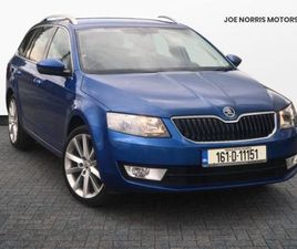 SKODA OCTAVIA COMBI STYLE 2.0TDI 150HP FOR SALE IN MEATH FOR €17,495 ON DONEDEAL
