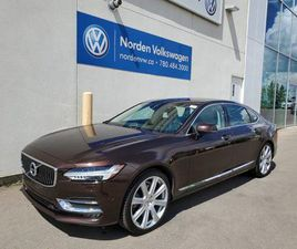USED 2018 VOLVO S90 T6 AWD INSCRIPTION - RARE COLOUR COMBO - LOW KMS