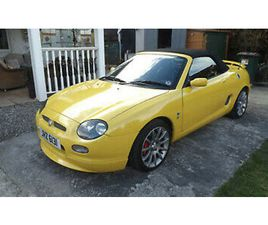 2001 MGF TROPHY 160 34K MILES REC BELTS & PUMP EX CONDITION FOR SALE. NEW PRICE!
