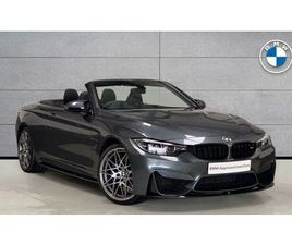 BMW M4 SERIES M4 CONVERTIBLE COMPETITION PACKAGE 3.0 2DR