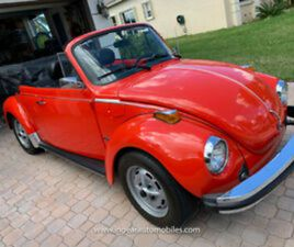 1979 VOLKSWAGEN BEETLE - CLASSIC RARE A/C OPTION! 47K MILES! SEE VIDEO!