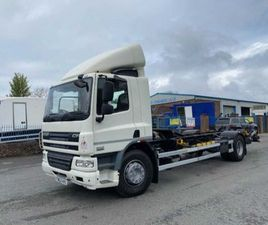 2013 DAF CF 75 360 4X2 CHASSIS CAB WITH DRAG HITCH FOR SALE IN ARMAGH FOR €1 ON DONEDEAL