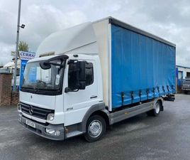 2010 MERCEDES ATEGO 816 7.5 TON CURTAINSIDER FOR SALE IN ARMAGH FOR €1 ON DONEDEAL
