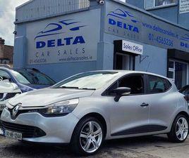 2014 RENAULT CLIO EXPRESSION 1.2 NCT 01/22 + TAX FOR SALE IN DUBLIN FOR €6,699 ON DONEDEAL