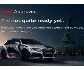 USED 2021 AUDI A6 40 TDI BLACK EDITION 5DR S TRONIC ESTATE 2,000 MILES IN GREY FOR SALE |