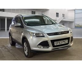 USED 2014 FORD KUGA ZETEC 4X4 TDCI NOT SPECIFIED 78,000 MILES IN SILVER FOR SALE | CARSITE