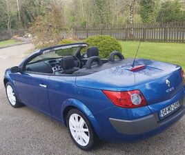 04 MEGANE CABRIOLET JUST PASSED NCT TO APRIL 2022 FOR SALE IN LEITRIM FOR €1,500 ON DONEDE