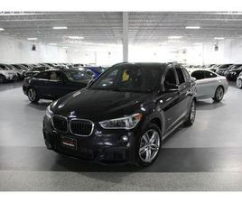 USED 2017 BMW X1 XDRIVE28I //MSPORT I PANOROOF I REAR CAM I PUSH START I
