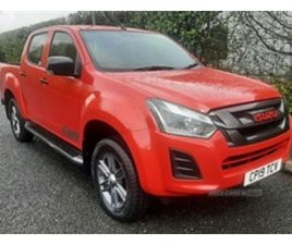 USED 2019 ISUZU D-MAX YUKON FURY NOT SPECIFIED 18,500 MILES IN RED FOR SALE | CARSITE