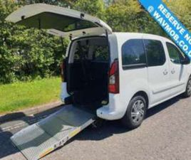 5 SEAT WHEELCHAIR ACCESSIBLE VEHICLE DISABLED ACCESS RAMP CAR 5-DOOR