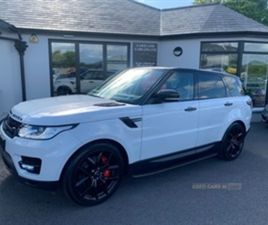 USED 2017 LAND ROVER RANGE ROVER SPORT HSE SDV NOT SPECIFIED 71,000 MILES IN WHITE FOR SAL