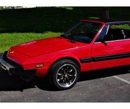 1987 FIAT X1/9 MID-ENGINE TARGA