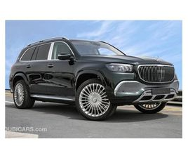 MERCEDES-BENZ GLS 600 MAYBACH EMERALD GREEN 4.0L V8 WITH REAR TRAY TABLES , MBUX SYSTEM AN