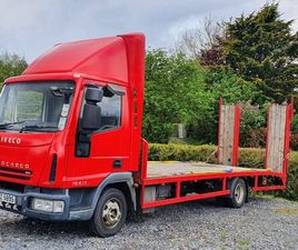 2007 IVECO EUROCARGO RECOVERY TRUCK, CARS,7.5TON, FOR SALE IN DOWN FOR £7,500 ON DONEDEAL