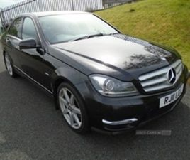 USED 2011 MERCEDES-BENZ C CLASS SPORT CDI BLUEEFFI-C SALOON 10,117 MILES IN BLACK FOR SALE