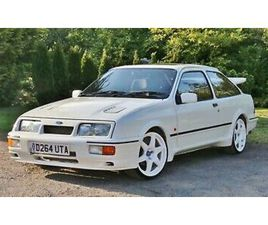 1986 FORD SIERRA RS COSWORTH 3DR 2WD DIAMOND WHITE