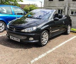 LOW MILEAGE PEUGEOT 206 CONVERTIBLE