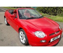 MGF 1.8 FREESTYLE LOW MILES SUPERB PLATE ONLY 86 MADE IN SOLAR RED