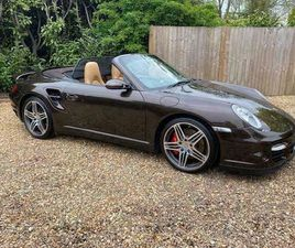 2007 PORSCHE 911 - 997 - TURBO - CONVERTIBLE - MANUAL - 19K MILES FROM NEW