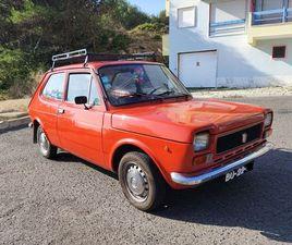 FIAT 127 MK1 - 1974 - CAIXA DE 5 VELOCIDADES