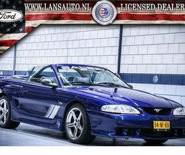 FORD MUSTANG   SALEEN S281   4.6L V8 SUPERCHARGED