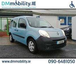 RENAULT KANGOO WHEELCHAIR ACCESSIBLE FOR SALE IN WESTMEATH FOR €7,500 ON DONEDEAL