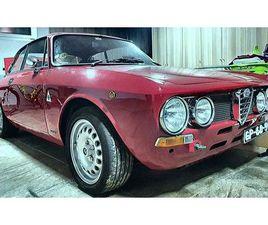 ALFA ROMEO 1600 GT JUNIOR - UNIFICATO - GTA STYLE -[RESTAURADO]