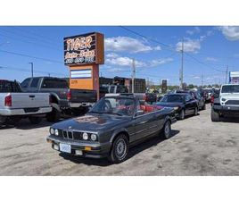 USED 1987 BMW 3 SERIES 325IC**MANUAL*ONLY 144KMS*RED LEATHER*NEW TOP*CERT