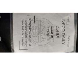 IVECO DAILY FG. 35C12V TORSIÓN 3300RD 12.0