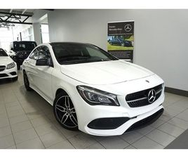 MERCEDES-BENZ CLA250 4MATIC COUPE 2019