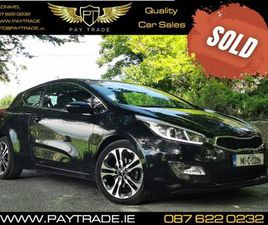 14 KIA PRO CEED ECODYNAMIC BLACK FINANCE WARRANTY FOR SALE IN TIPPERARY FOR €10,999 ON DON