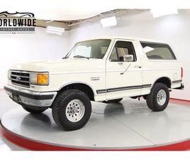 FOR SALE: 1990 FORD BRONCO IN DENVER , COLORADO