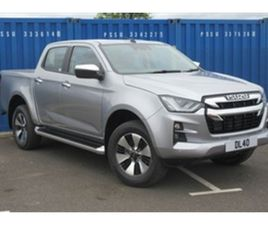 USED 2021 ISUZU D-MAX DL40 DCB NOT SPECIFIED 5 MILES IN SILVER FOR SALE | CARSITE