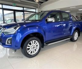 USED 2019 ISUZU D-MAX YUKON NOT SPECIFIED 24,900 MILES IN BLUE FOR SALE | CARSITE