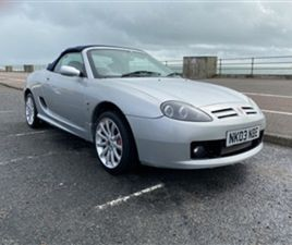 USED 2003 MG MGTF 160 SPRINT 2DR CONVERTIBLE 58,072 MILES IN SILVER FOR SALE | CARSITE