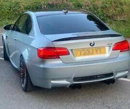 BMW E92 M3 2011 DCT INDIVIDUAL SPEC SILVER STONE SILVER