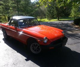 FOR SALE: 1980 MG MGB IN CLEVELAND, OHIO