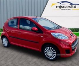 USED 2010 PEUGEOT 107 URBAN S-A HATCHBACK 56,532 MILES IN RED FOR SALE | CARSITE