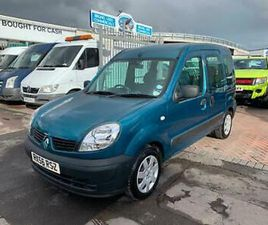 2007 RENAULT KANGOO 1.2 AUTHENTIQUE 5DR VERY LOW MILES 16K VERY CLEAN DISABLED R