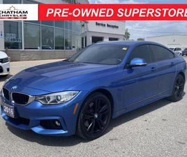 USED 2016 BMW 4 SERIES 435 GRAN COUPE I XDRIVE LOCAL TRADE   M2 PERFORMANCE   LOADED!