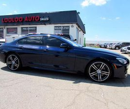 USED 2018 BMW 6 SERIES GRAN COUPE 650I XDRIVE AWD 445 HP TWIN TURBO M SPORT PKG NAVI CERTI
