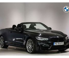 2020 BMW 4 SERIES 3.0 M4 COMPETITION CONVERTIBLE - £59,390