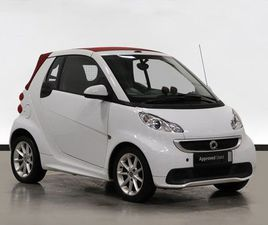 SMART FORTWO CABRIO PASSION MHD 2DR SOFTOUCH AUTO [2010] 1.0