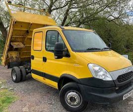2013 IVECO DAILY 65C17 3.0 LTR 170 BHP LWB TIPPER CHASSIS CAB DIESEL MANUAL