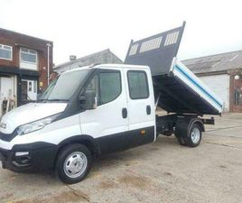 2015 65 IVECO DAILY DROPSIDE TIPPER DOUBEL CAB / CREW CAB 6 SPEED - 130 BHP - 35